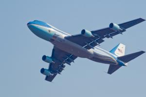 Polling Air Force One